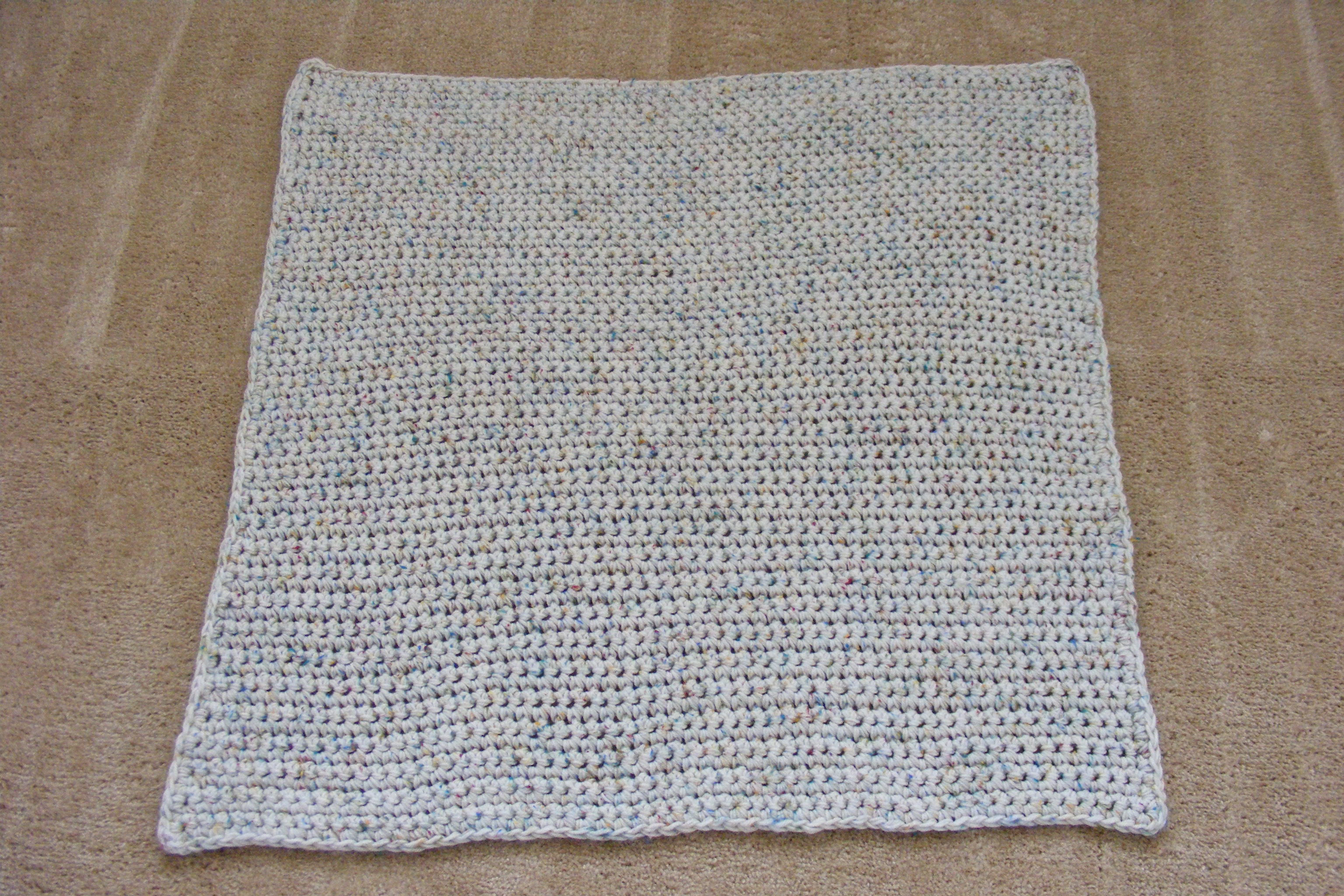 afghan pattern - large hook - Crochetville