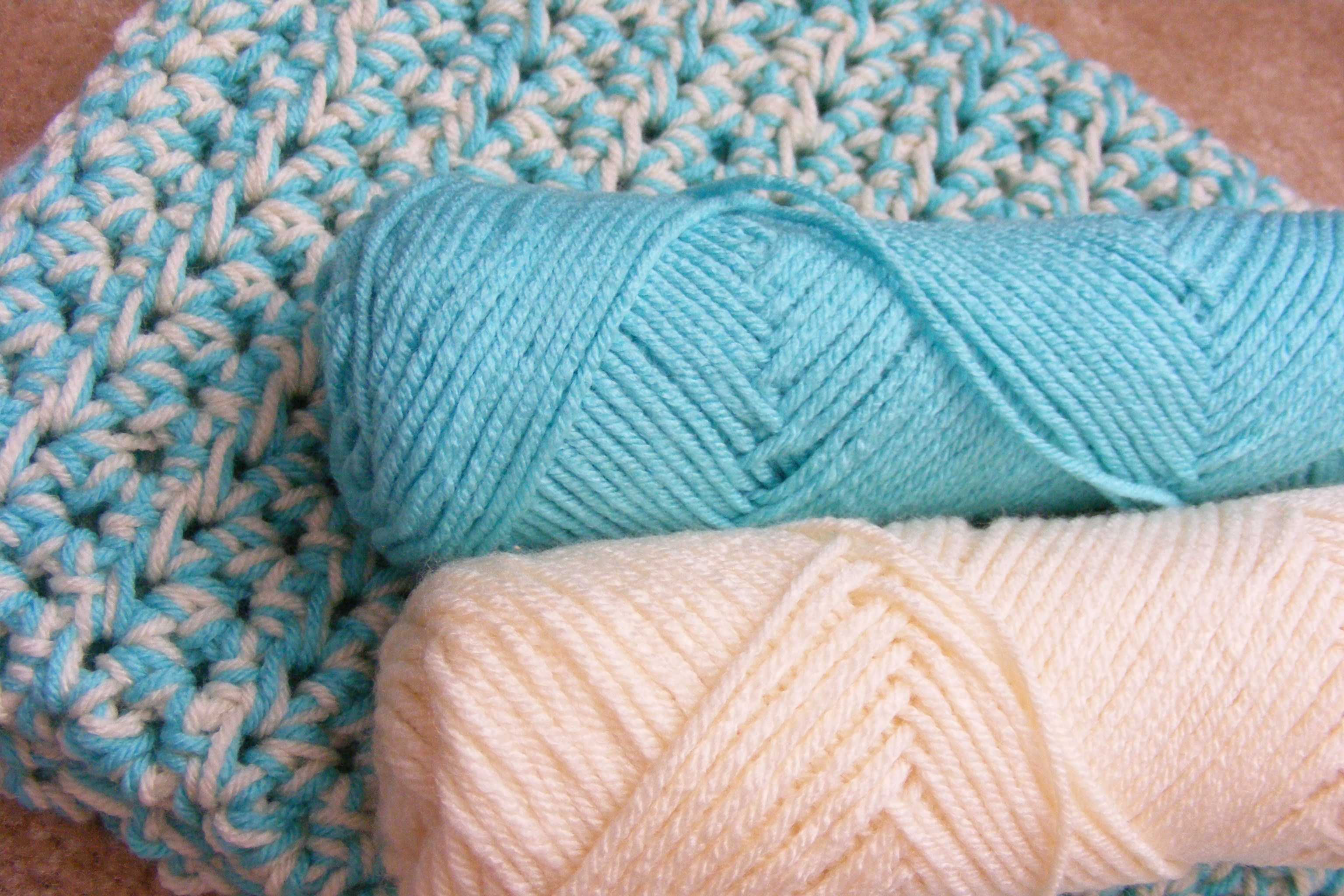 Crocheting A Baby Blanket : Crochet Basket & Two Baby Blankets GretchKals Yarny Adventures