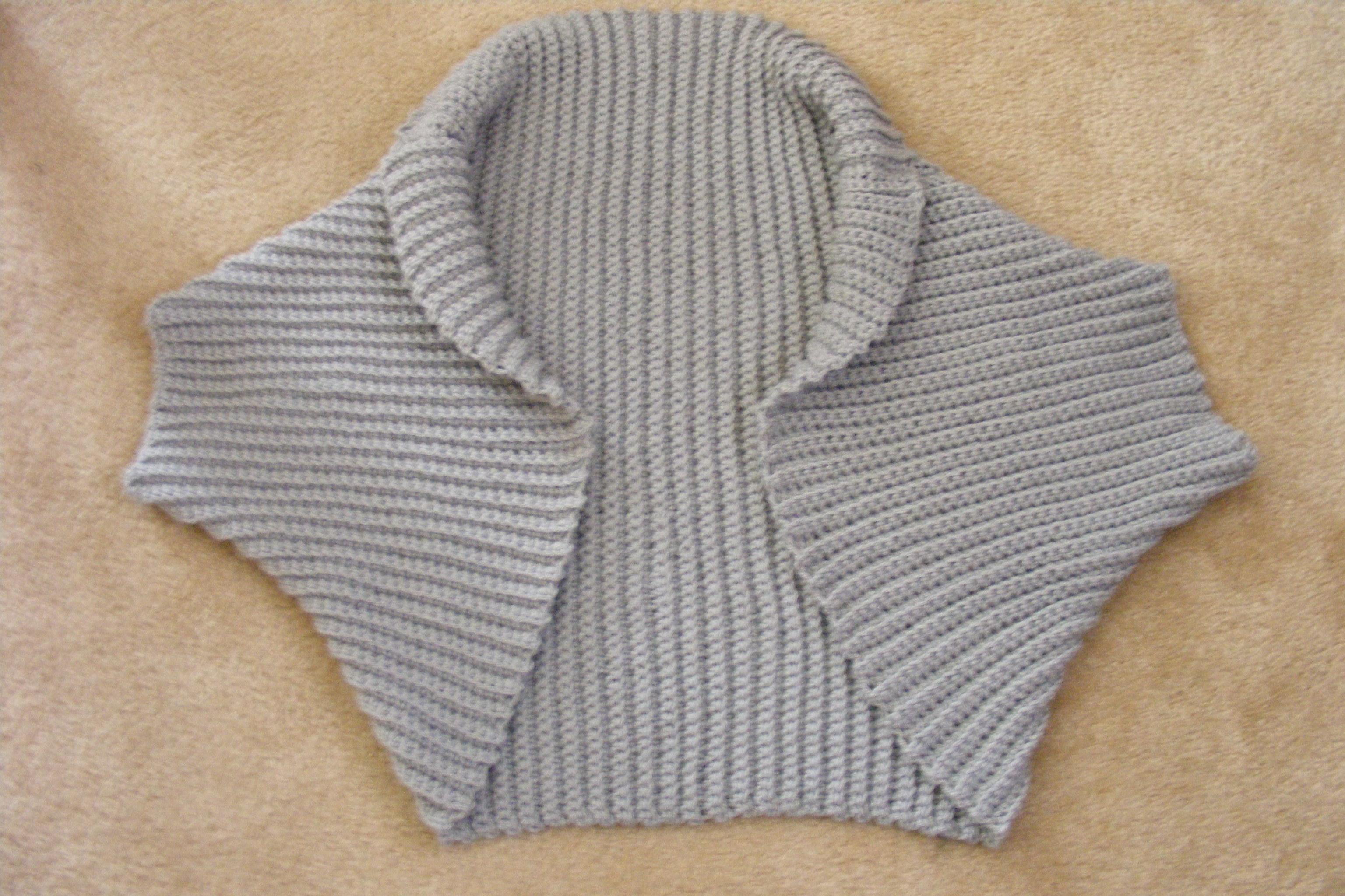 Excepcional Easy Shrug Knitting Pattern Free Ideas - Manta de Tejer ...