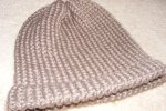 Dad's Loom Knit Hat 1